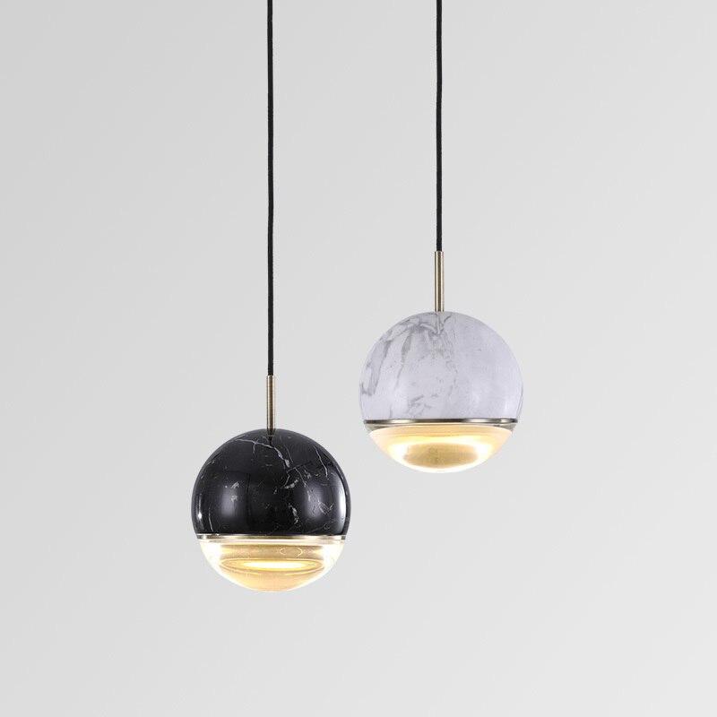 Современные стеклянные шаровые подвесные светильники для столовой, для дома, кухни, подвесные светильники, декор для бара, ресторана, блеск