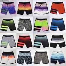 Мужские пляжные шорты-бермуды, эластичные водонепроницаемые повседневные быстросохнущие пляжные шорты, несколько моделей, 30-36