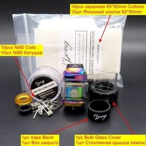 Image 5 - Cigarette électronique vaporisateur Vape réservoir Zeus X RTA atomiseur MTL RTA 4.5ml liquide pour Vape Mech boîte Mod Mechmod Vaper