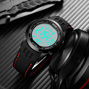 Image 5 - Ots Mannen Sport Horloges 30M Waterdichte Digitale Led Militaire Horloge Mannen Mode Toevallige Elektronica Horloge