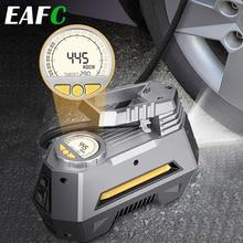 Tragbare Luft Kompressor Reifen Inflator 12V DC Auto Abgeschaltet Digital Auto Luftpumpe Reifen Pumpe mit LED Licht für Auto Fahrrad Bälle
