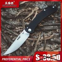SANRENMU 9165 SRM Tasche Folding Messer 12C27 Stahl Taktische Jagd Überleben Rettungs Outdoor Camping Messer Mini EDC Werkzeug CS GEHEN