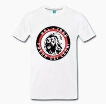 T camisa maglia ultras milão curva sud fossa dei leoni 1 s m l xl