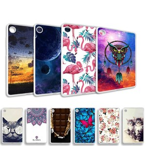 Case for Lenovo Tab M7 TB-7305F TB-7305X TB-7305I Case Coque 3D DIY Painted Cartoon Pattern Soft Silicone TPU Tablet Cover Funda(China)