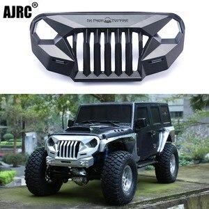 Image 1 - Ms raiva frente rosto grating para 1/10 rc rastreador carro trx4 axial scx10 jeep jk wrangler sema frente grille irritado rosto