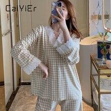 Caiyier женские сетка пижамный комплект принцессы Милая одежда;