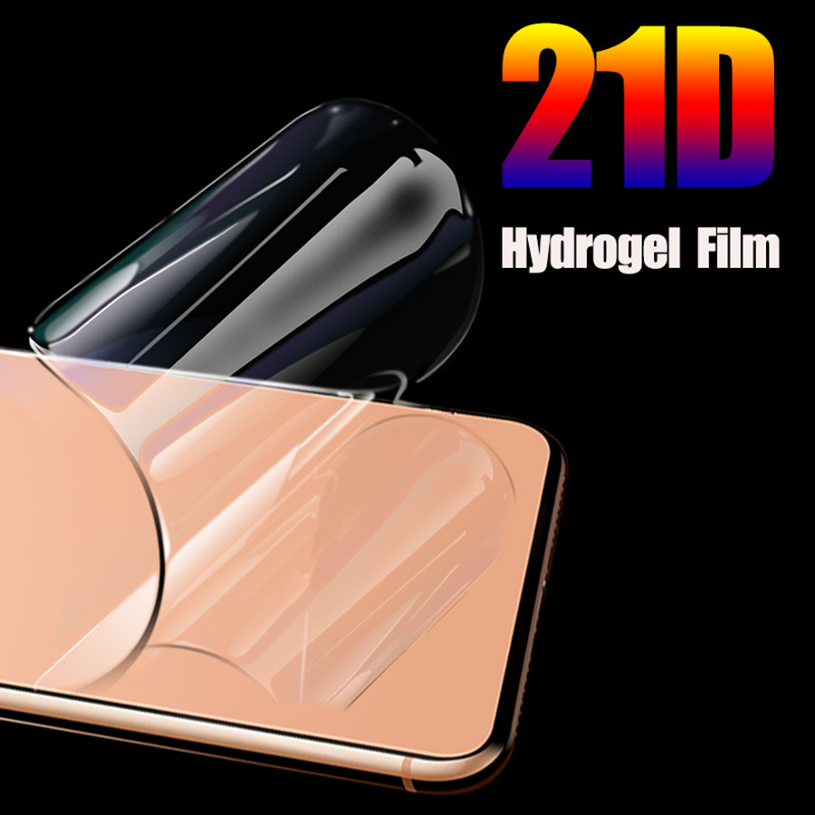 Ultra Silicone Hydrogel Film For Google Pixel 4 XL 3XL 3a 2XL 2 4xl Full Curved Cover TPU Front Screen Protector film No Glass image