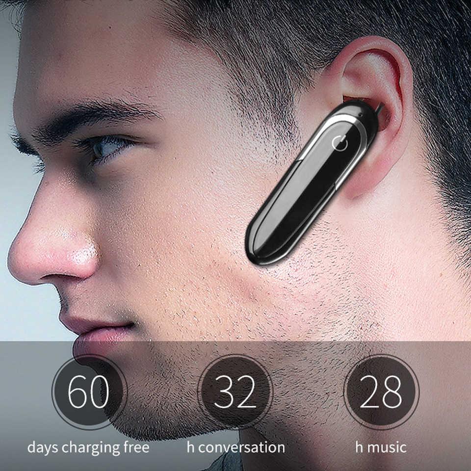 Nowa słuchawka Bluetooth ochrona przed hałasem bezprzewodowe słuchawki z mikrofonem sterownik sportowy zestaw słuchawkowy do iphone'a Samsung Huawei Phone