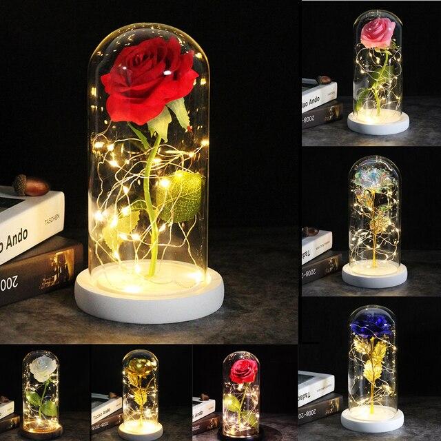 Enchanted Glass Rose 1