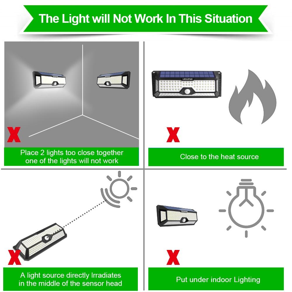 luz ao ar livre grande angular lâmpada