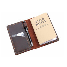 genuine Leather cover planner A6 2021 vintage agenda planner organizer journal notebook leather notebook cover