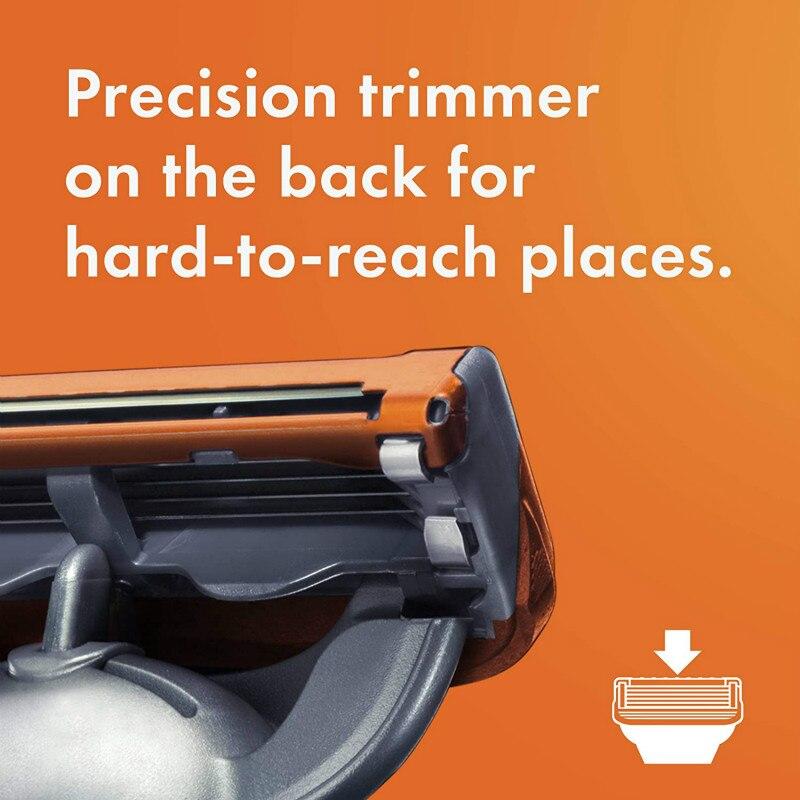 substituíveis para barbear gillette fusion5 lâmina de