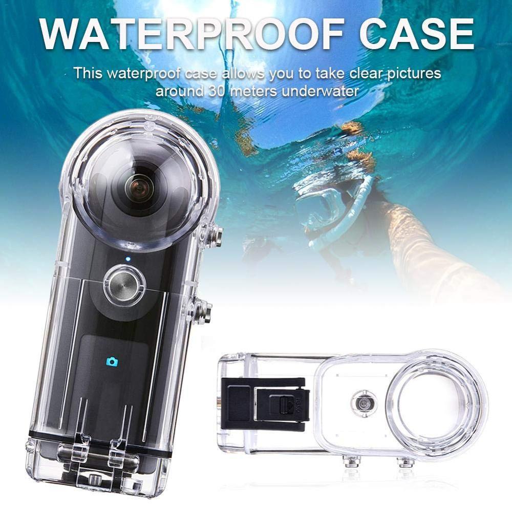 40M boîtier étanche pour RICOH Theta V/Theta S & SC 360 panoramique Action caméra accessoires boîtier boîtier plongée coque de protection