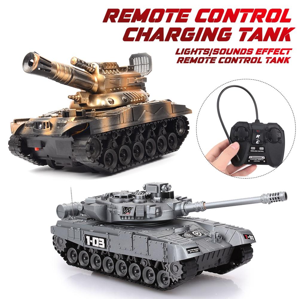 1:20 RC War Tank Radio Control World Of Tanks Remote Control Toy Car Model Of Tank Toys For Children Kids Boy Birthday Gift