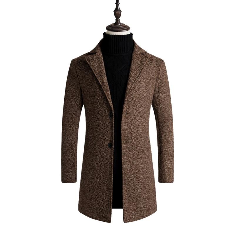 2019 Fashion Men Wool Blends Suits Women Design Wool Coat Warm Winter Thick Trench Coat Male Windbreaker Jackets Dropshipping