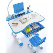 Verstelbare Kinderen Studie Bureau Voor Kind Met Tilt Desktop Led Licht Lade Functionele Bureau En Stoel Set Kinderen Schrijven Tafel