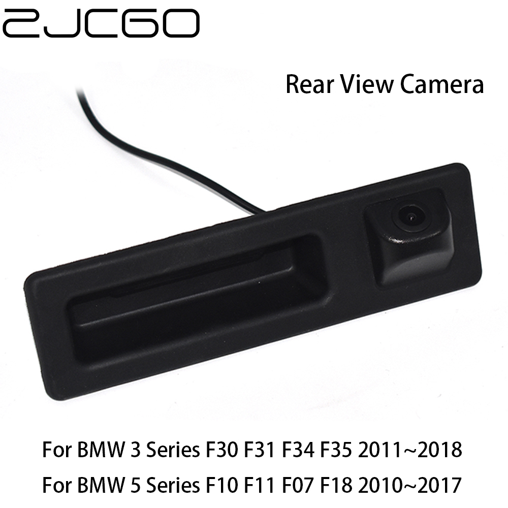 ZJCGO Car Rear View Reverse Back Up Parking Trunk Handle Camera For BMW 3 5 Series F30 F31 F34 F35 F10 F11 F07 F18 2011~2018