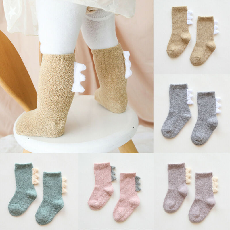 Baby Socks Toddler Girl Boys Knee High Socks Animal Thick and Warm Cotton Socks 0-3Y