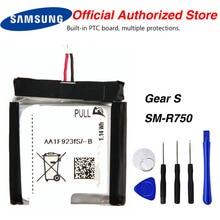 цена на Original Samsung  SM-R750 Battery For SAMSUNG Gear S SM-R750 R750 Genuine Battery 300mAh