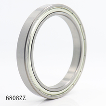 6808ZZ Bearing ABEC 1 (10PCS) 40x52x7 mm Thin Section 6808 ZZ Ball Bearings 6808Z 61808Z