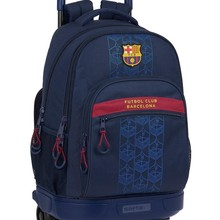 F.C.Barcelona large compact removable backpack with wheels 612125918