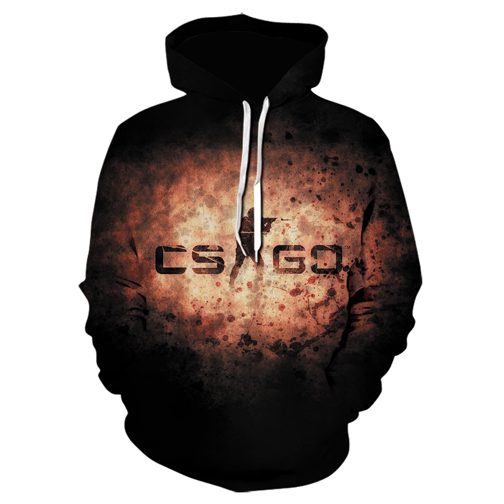 New StyleCS GO Hoodies Counter Strike Global Offensive CSGO Hoody Sweatshirts Fleece Pullovers Tracksuits Men Autumn Clothes