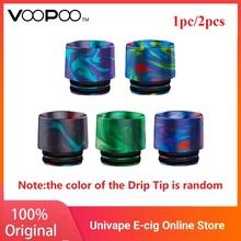 Oryginalny VOOPOO UFORCE UFORCE T1 zbiornik żywica 810 końcówka kroplowa losowe kolory dla drag 2 zestaw e-cig Vape wymiana części zamiennych końcówka kroplowa tanie tanio DIY Złącze Sprężynowy VOOPOO Resin 810 Drip Tip Żywica 1pc pack