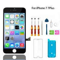 Affichage d'affichage à cristaux liquides pour l'iphone 7 remplacement de numériseur d'écran tactile LCD complet pour l'iphone 7 Plus