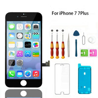 LCD Display For iPhone 7 Touch Screen Digitizer Replacement with Home Button Front Camera Complete LCD For iPhone 7 Plus