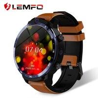 Lemfo LEM12 Pro Smart Horloge Android 10 MT6762 Cpu 4G 64Gb Lte 4G Draadloze Projectie 900Mah power Bank Gezicht Id Dual Camera Mannen