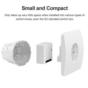 Image 5 - SONOFF basique/MINI commutateur intelligent Wifi bidirectionnel petite application/LAN/voix/télécommande prise en charge bricolage un commutateur externe Google Home Alexa