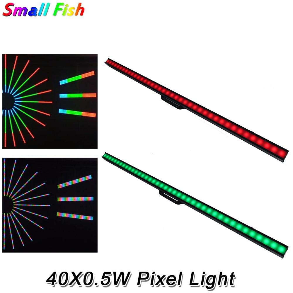 High Quality Pixel Light 40X0.5W RGB LED SMD 5050 DMX 512 ArtNet OR Arkaos KlingNet Control Stage Disco DJ Club Effect Light