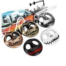 Halloween Gift 3D punisher Schedel Auto Sticker en Sticker Metalen Ghost Auto Moto Sticker Auto Styling voor auto accessoires exterieur