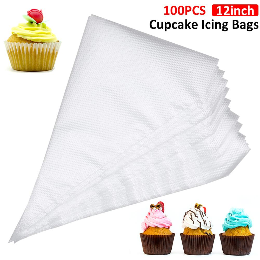 Piping Bags Disposable Cake Decorating