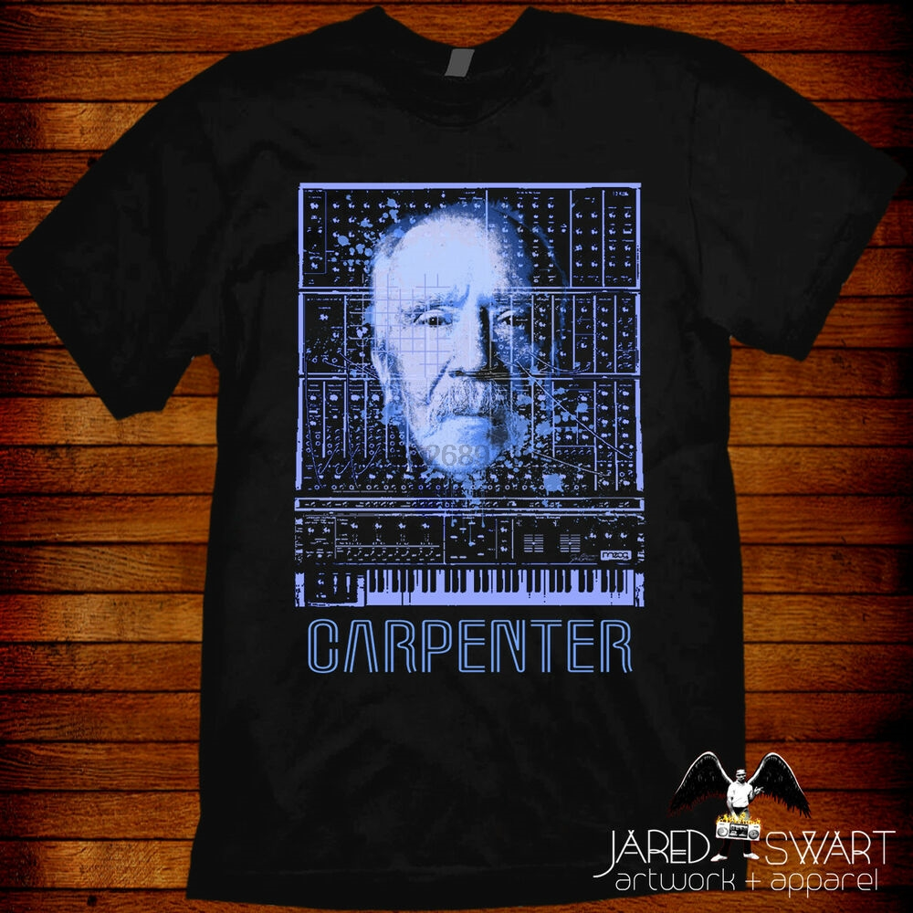 John Carpenter Synthesizer T-Shirt Escape From New York Big Trouble Little China(China)