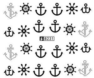 Наклейка на ногти водная переводная переводка наклейки для дизайна ногтей-слайдеры шестеренки часы дизайнерские украшения маникюрные нак...