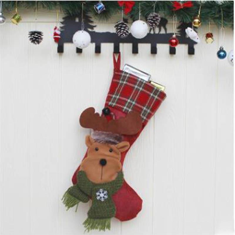 2020 nuevo juego de cama Feliz Navidad conjunto de cama azul Santa Claus ropa de cama calcetines de Navidad alce cama de muñeco de nieve ropa de cama individual/cama doble - 2
