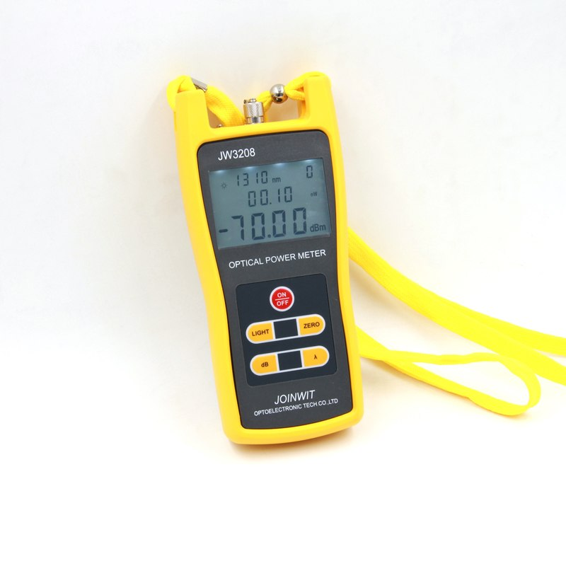 Used In Telecommunication Field Cheap JW3208A -70~+6dBm Handheld Fiber Optic Power Meter