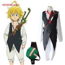 Vevefhuang Anime De Zeven Hoofdzonden Cosplay Meliodas Dragon S Sin Van Toorn Cosplay Kostuum Volledige Set Uniformen