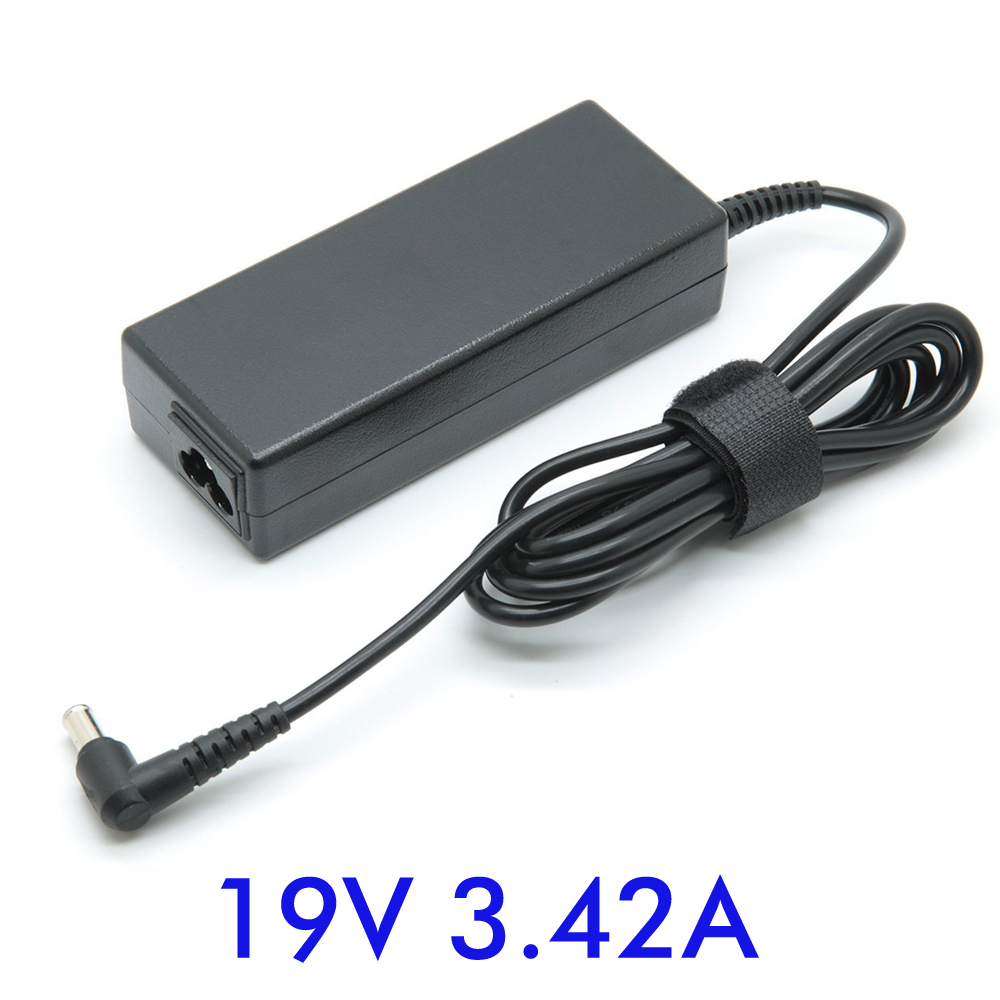 19V 3.42A 5.5*2.5mm Notebook AC Laptop Adapter Suitable For ASUS R33030 <font><b>N17908</b></font> <font><b>V85</b></font> Lenovo/BenQ/Acer Notebook Power Supply image