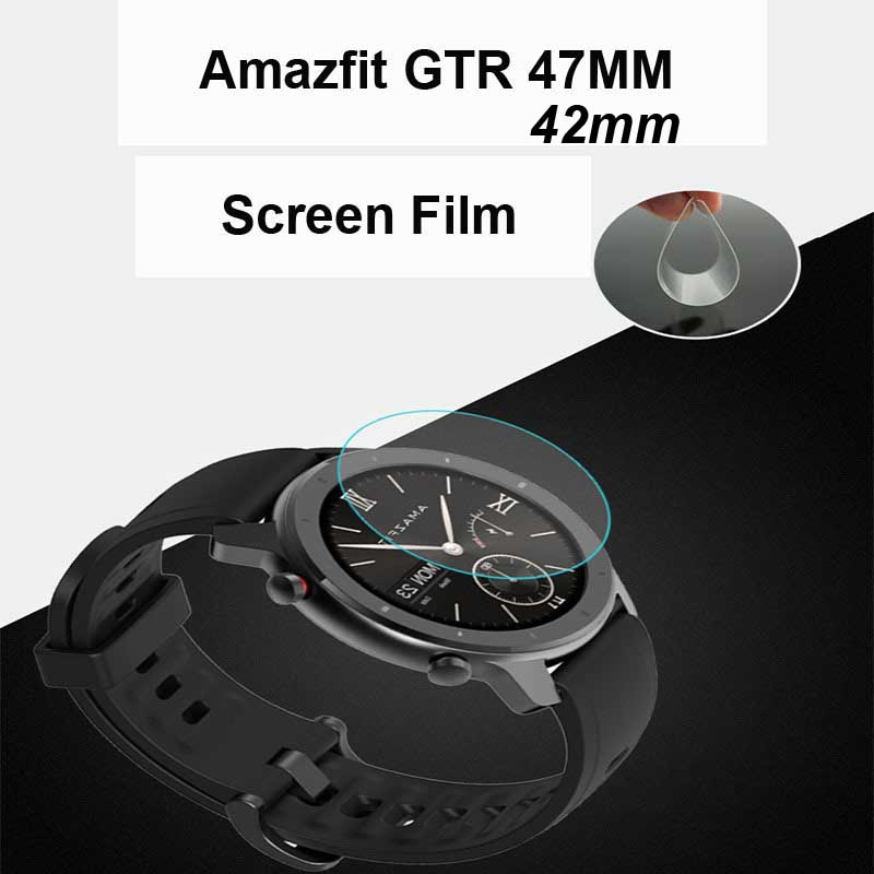 For Xiaomi Amazfit GTR 47mm 42mm Film Smartwatch Screen Protector 10Pcs
