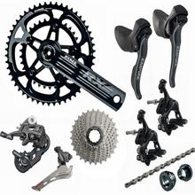 SENSAH 제국 2x11 속도, 22s 도로 자전거 시프터 카세트 + 11 s 체인 그룹 세트, 자전거 170mm 크랭크 셋 5800 R7000