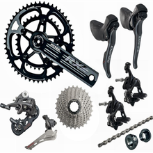 SENSAH EMPIRE 2x11 Speed, 22s Road Bike Shifter Cassettes + 11s Chains Groupset , Bicycle 170mm Crankset for 5800 R7000