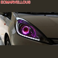 Daytime Running Automovil Styling Drl Automobiles Parts Led Headlights Car Lights Assembly 05 06 07 08 09 10 11 FOR Honda Fit