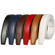 3.1CM Men Automatic Buckle Leather Belt Body New Style Leather Belt