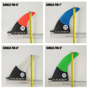 "Image 5 - 9 inch firberglass carbon single fin 6""7""8"" surfboard sup fin longboard fin 8"