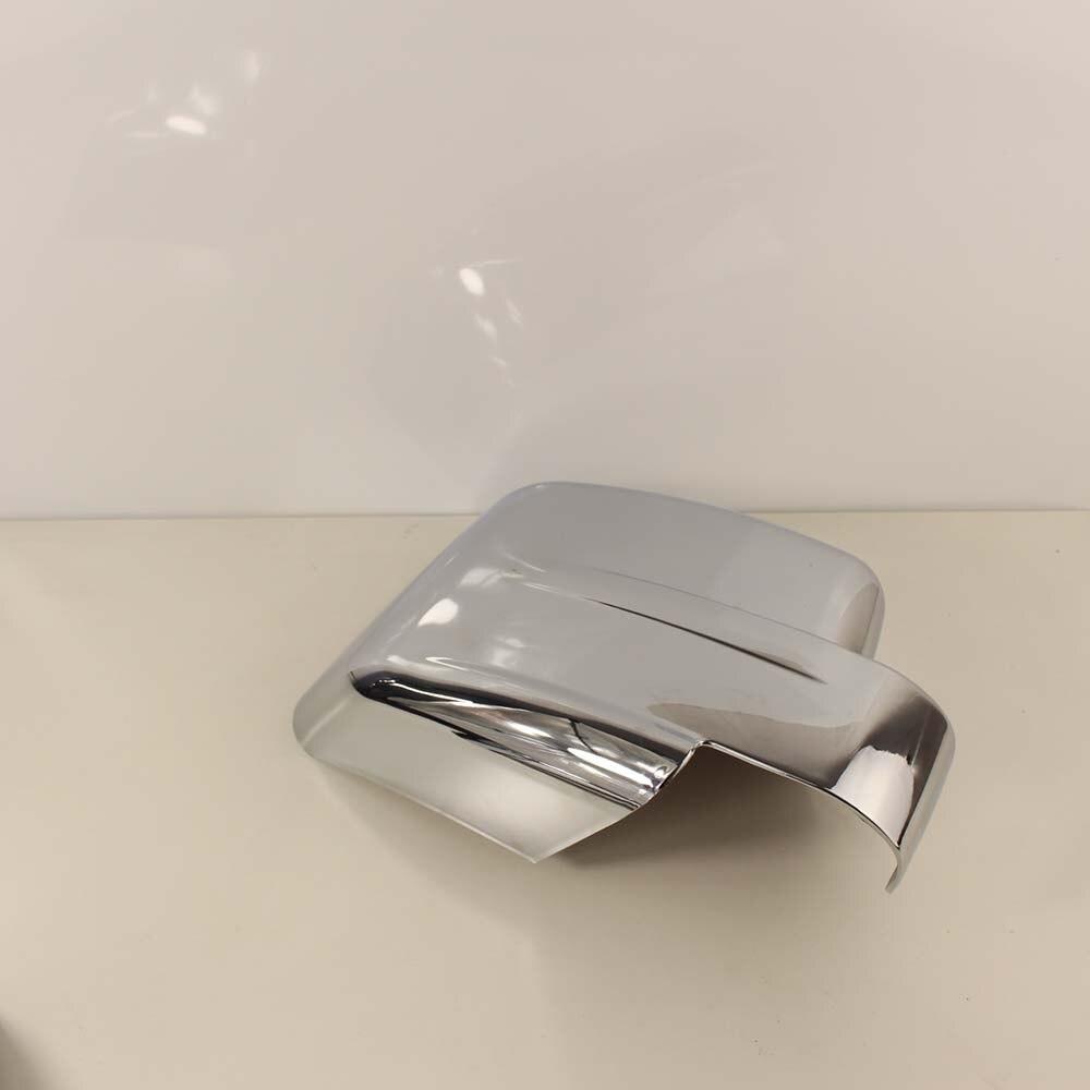 Para dodge nitro abs chrome porta lateral do carro espelho capa