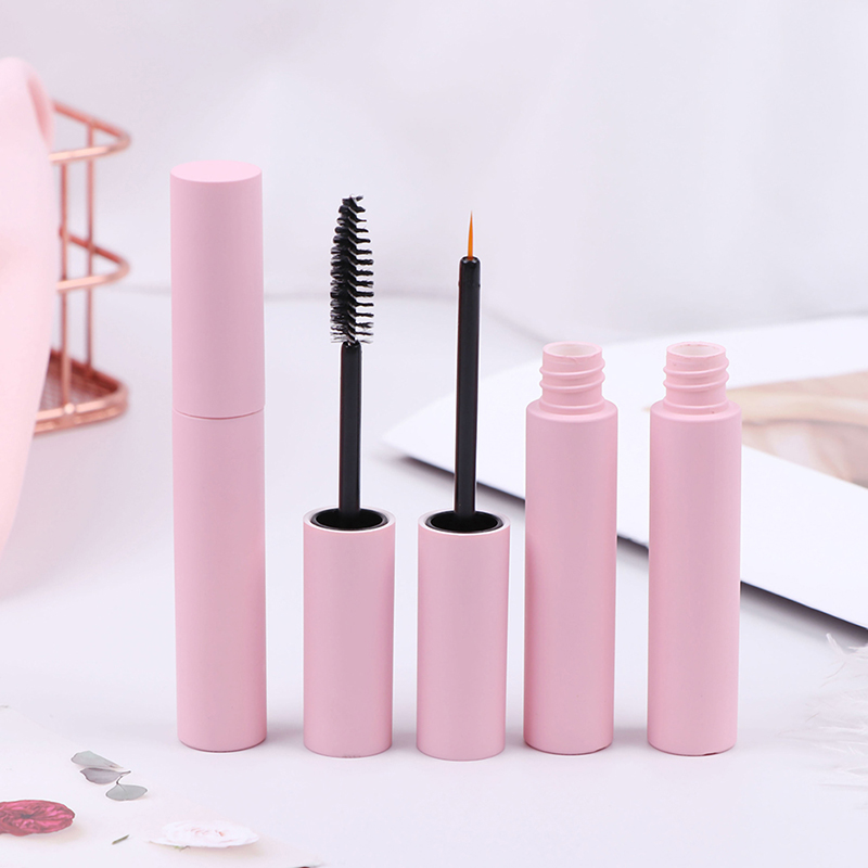 10ml Pink Lip Gloss Tubes Empty Lip Balm Bottle Empty Eyeliner Mascara Cosmetic Container Packing Container 3 Styles