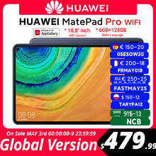 CODE:FASTMAY25 250€-25 off Globale Version HUAWEI MatePad Pro WIFI 6GB128GB Tablet Android 10 Turbo 10.8