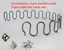 5 pces 40 a 60 cm bestselling primavera aço primavera sofá reparação personalizado mola de compressão mola cobra